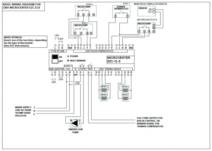 3 wire thermostat wiring diagram for a boiler