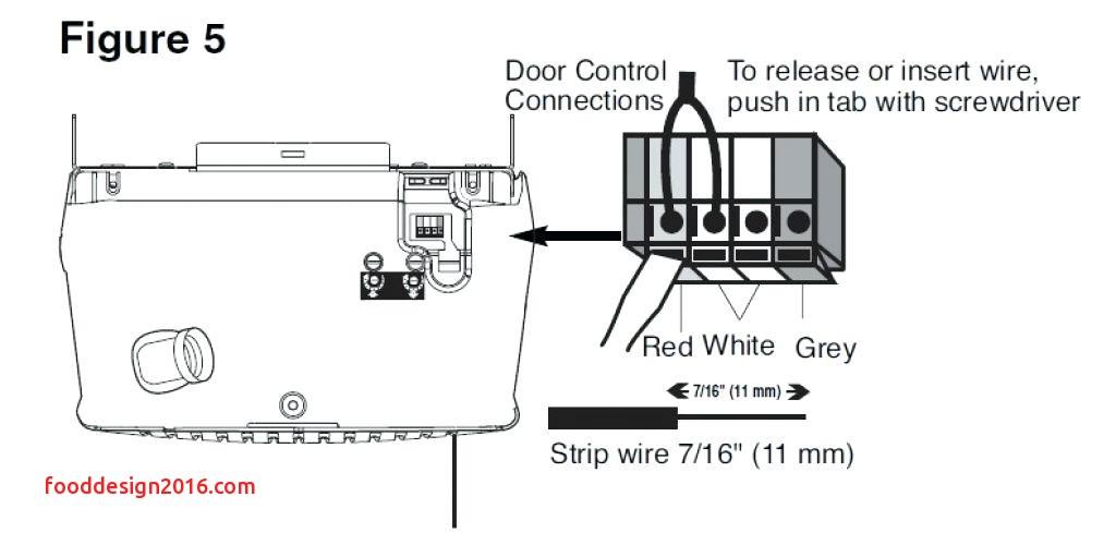 chamberlain door wiring diagrams
