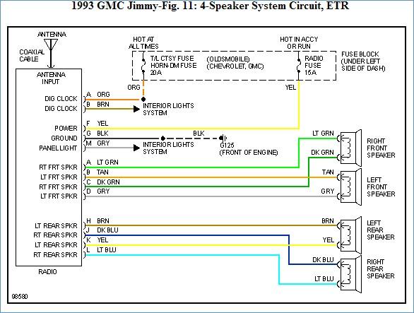 Chevy S10 Radio Wiring Diagram Sample Wiring Diagram Sample