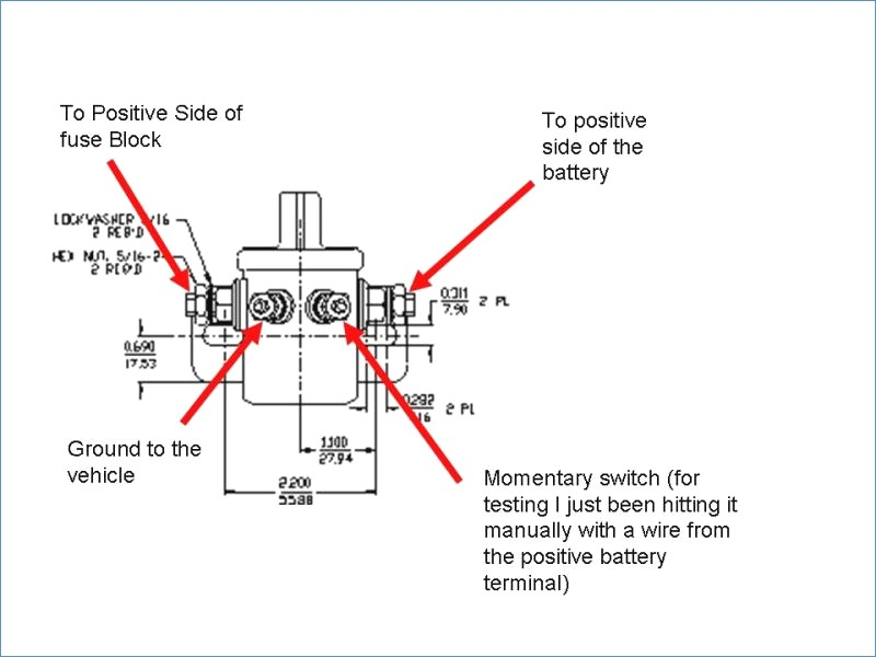 Ford Solenoid Switch Wiring Diagram | mwb-online.co on