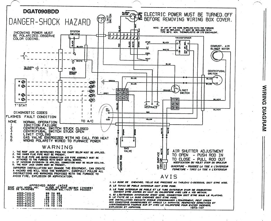 Coleman Mobile Home Gas Furnace Wiring Diagram Sample Wiring