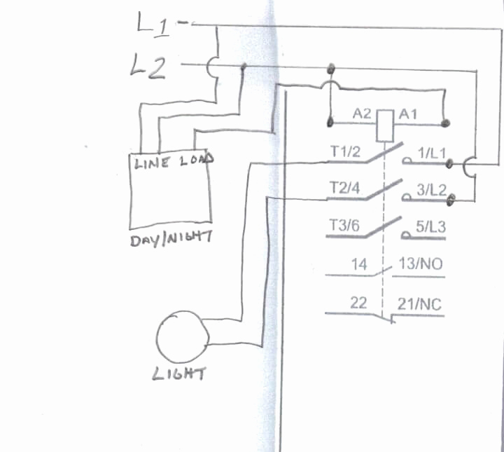 A Lighting Contactor Wiring Wiring Diagram