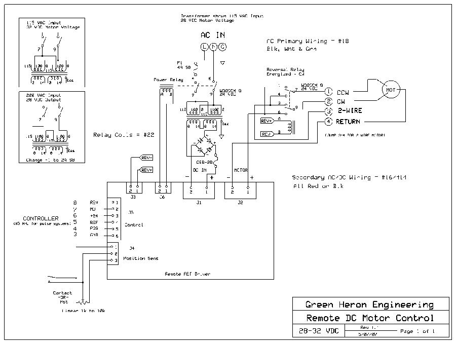 Dayton Dc Speed Control Wiring Diagram Gallery Wiring Diagram Sample