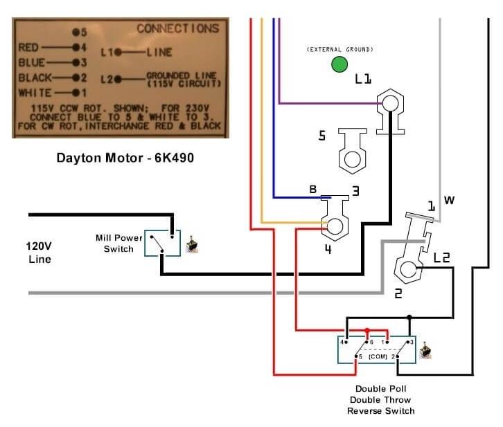 Dayton Electric Motors Wiring Diagram Gallery Wiring Diagram Sample