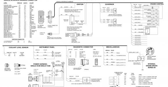 2005 detroit series 60 ecm wiring diagram