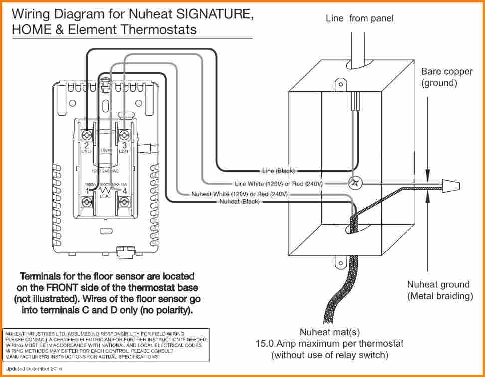 Ditra Heat thermostat Wiring Diagram Gallery Wiring Diagram Sample