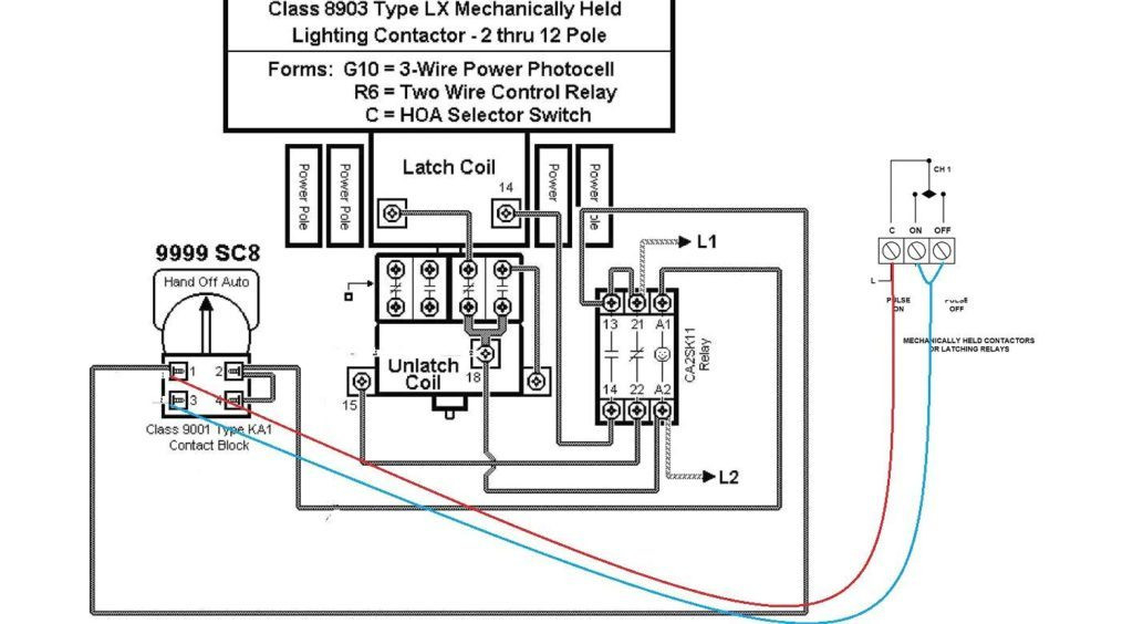 transfer switch del Schaltplan relay