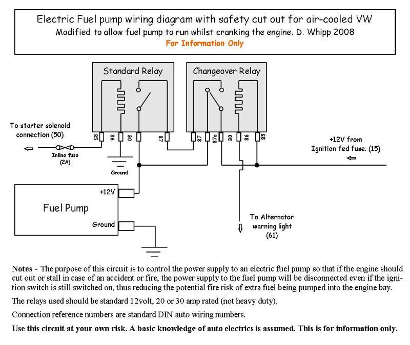 Electric Fuel Pump Relay Wiring Diagram Sample Wiring Diagram Sample
