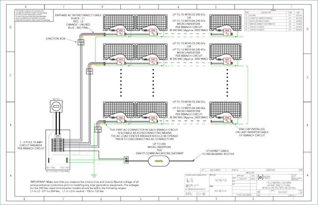 Enphase Micro Inverter Wiring Diagram Sample Wiring Diagram Sample