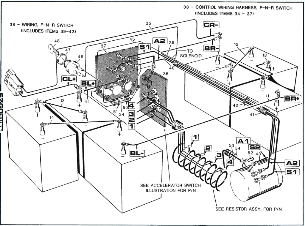 Ez Go 36 Volt Wiring Diagram Index listing of wiring diagrams