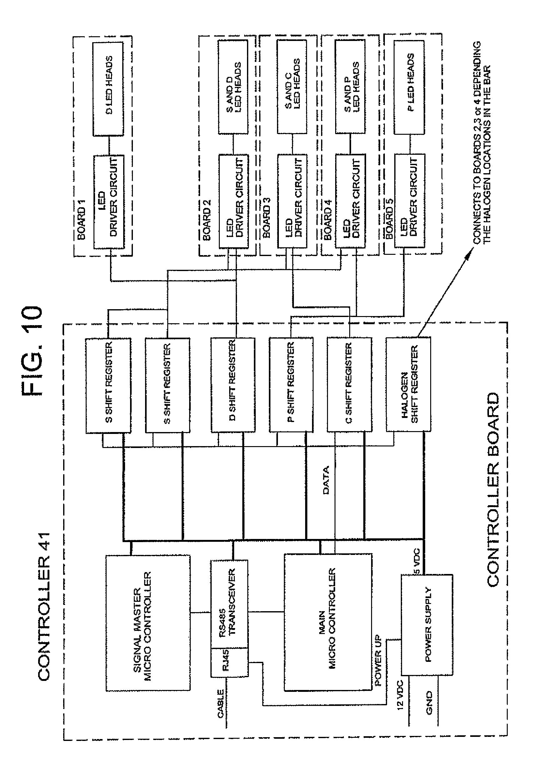 federal signal rumbler wiring diagram
