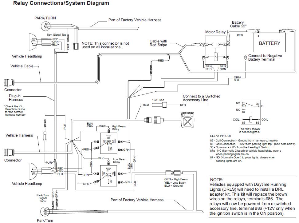 Wiring Diagram Minute Mount Plow K15903 Wiring Diagram