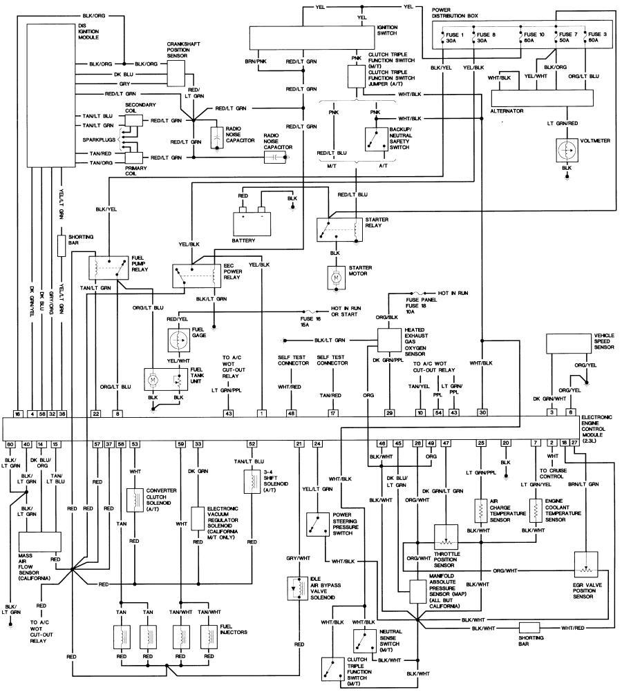 87 ford f150 radio wiring diagram