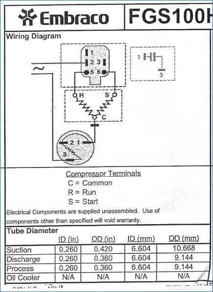 Frigidaire Refrigerator Wiring Diagram Collection Wiring Diagram