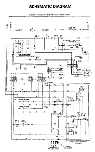 heat pump control board wiring diagram