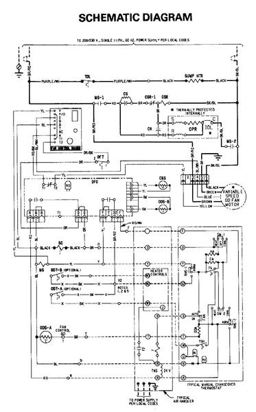 goodman wiring diagram