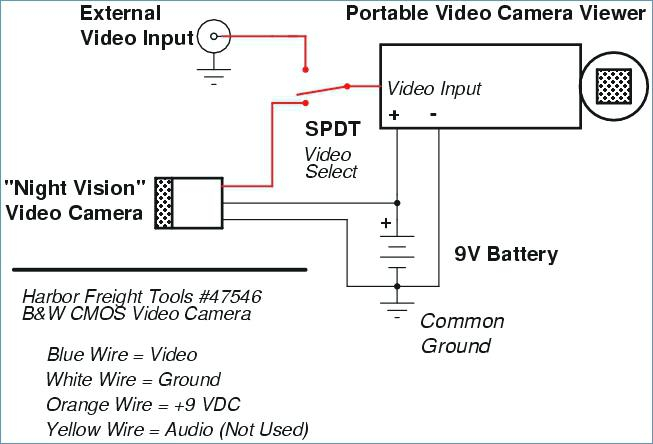 Harbor Freight Security Camera Wiring Diagram Download Wiring