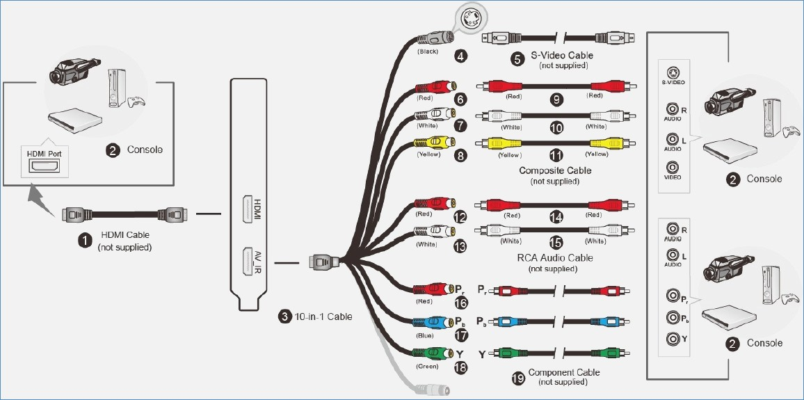 wiring diagram for usb to vga