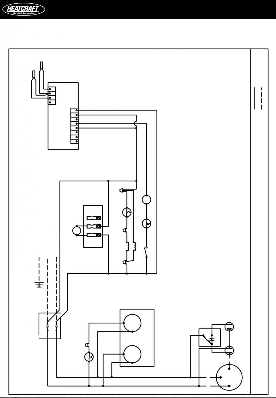 walk in freezer wiring schematics