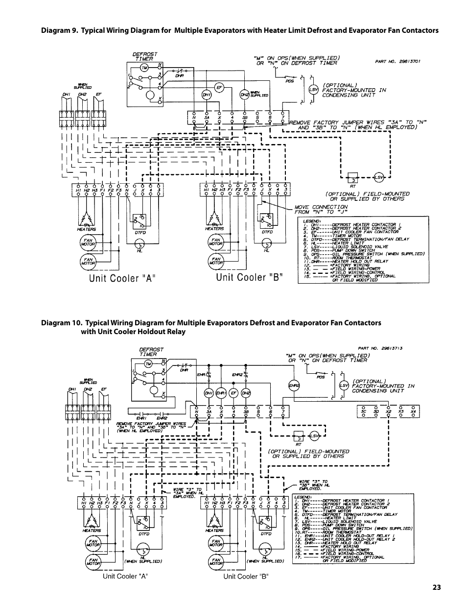 wiring schematic for walk in zer