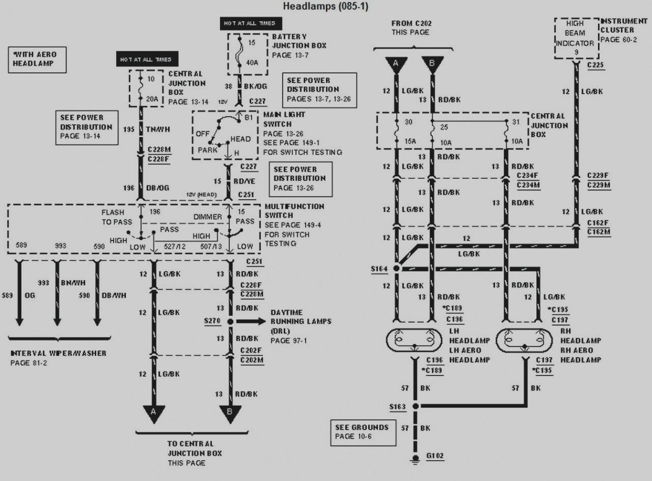 1995 F53 Fuse Diagram