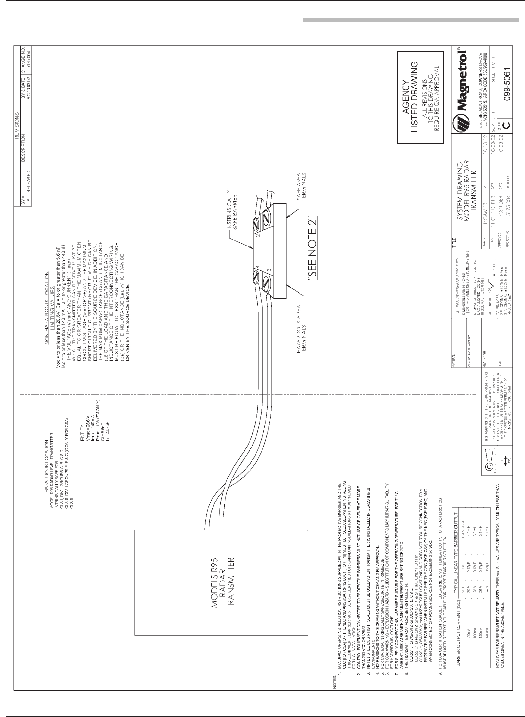 level transmitter wiring diagram