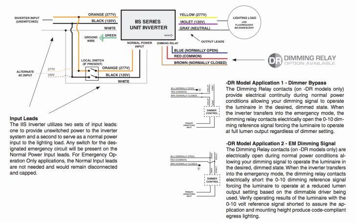Iota I 24 Emergency Ballast Wiring Diagram Sample Wiring Diagram