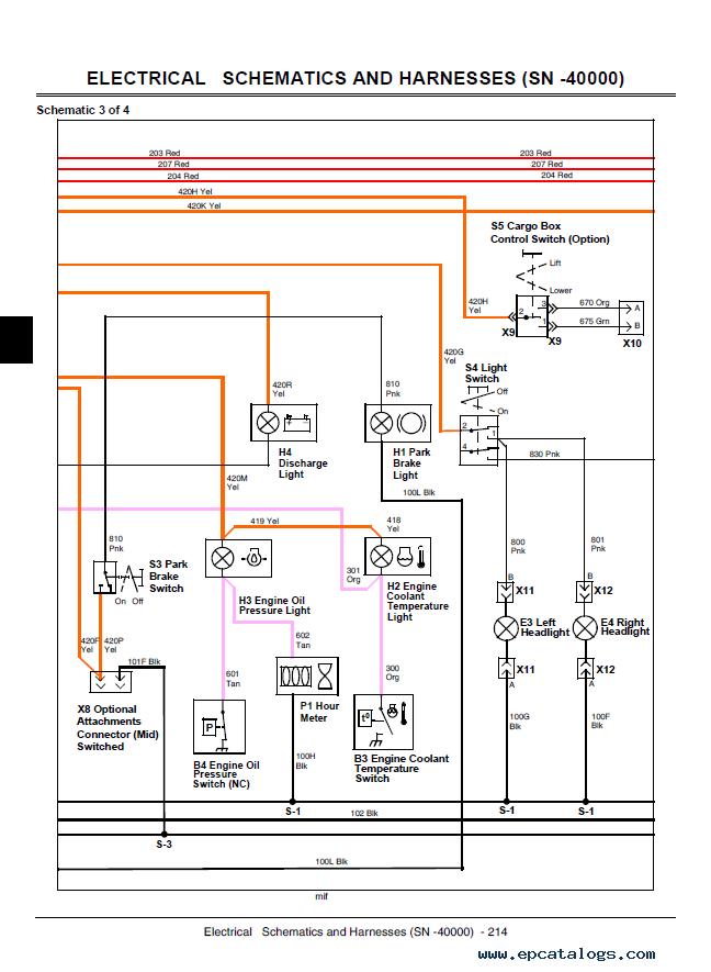 John Deere Gator Hpx 4x4 Wiring Diagram Download Wiring Diagram Sample