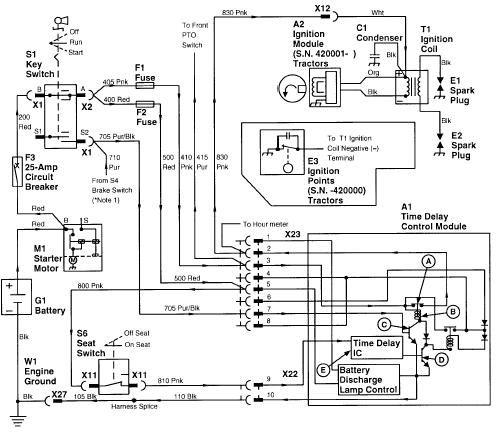 John Deere F525 Mower Electrical Schematic - Carbonvotemuditblog \u2022