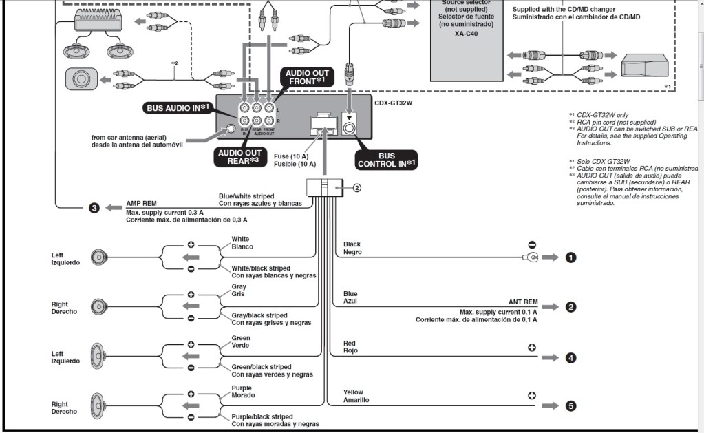 350 head unit wire diagram