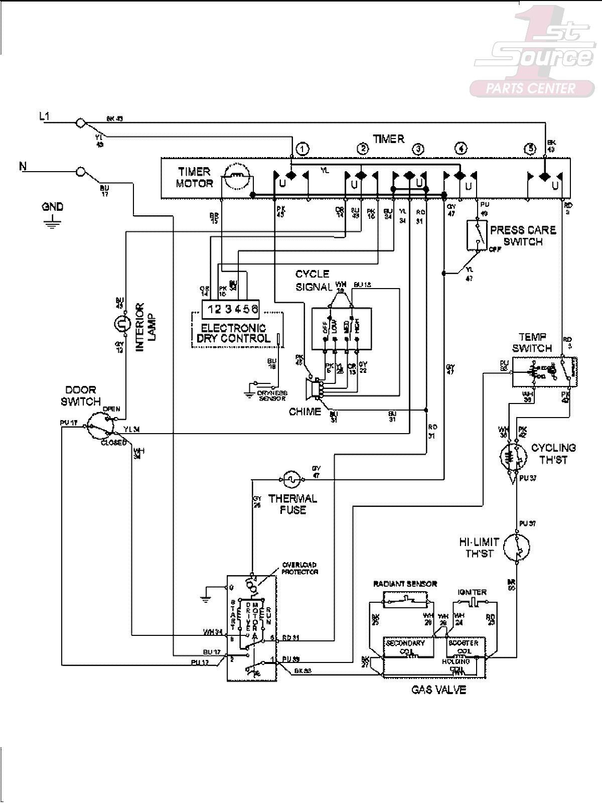 dryer wiring diagram as well as maytag dryer wiring diagram wiring