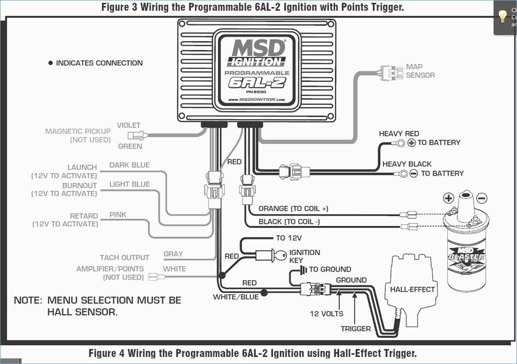 msd digital 6a wiring diagram
