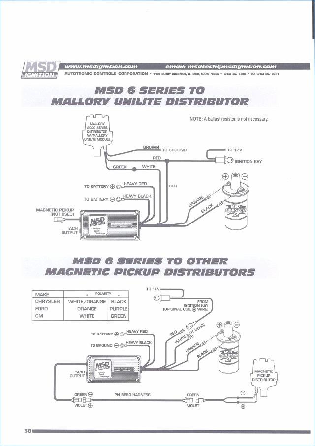 Wiring Diagram For Msd 6aln - Wwwcaseistore \u2022