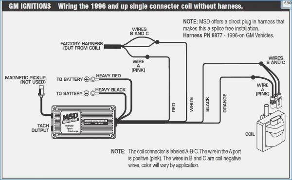 Msd 6al Wiring Diagram Chevy Hei Sample Wiring Diagram Sample