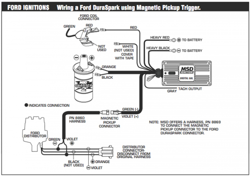 Msd 6al Wiring Diagram Gallery Wiring Diagram Sample