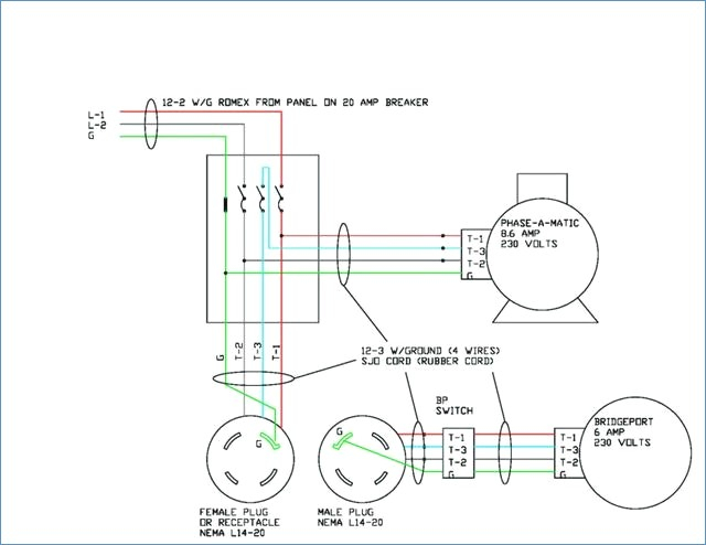 nema 14 20p wiring diagram