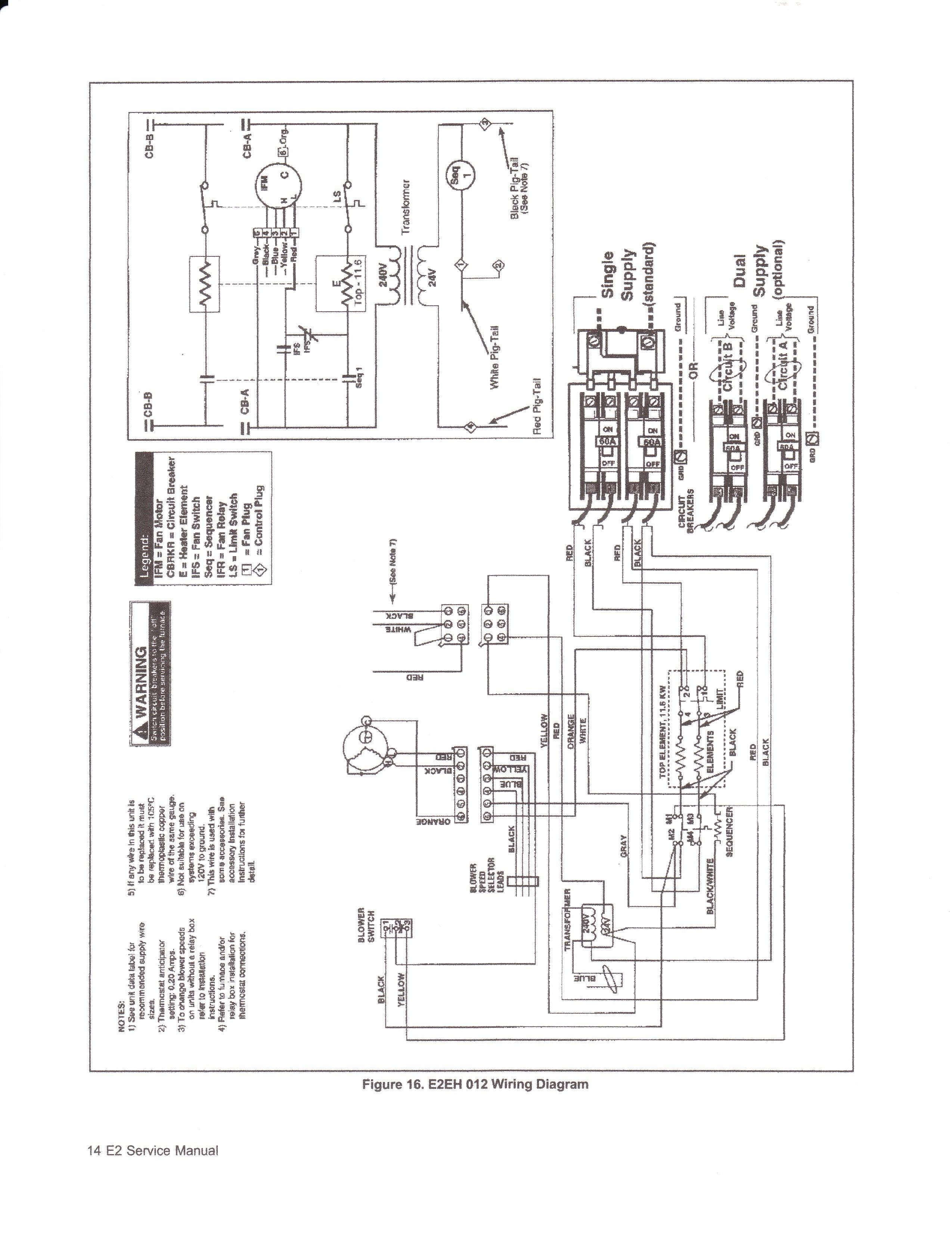 nordyne basic furnace wiring diagram