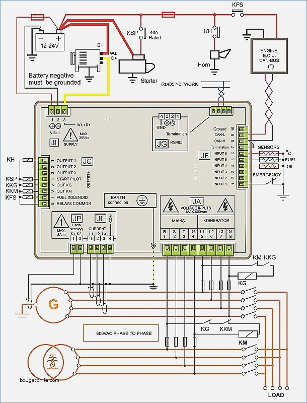 connection diagram olympian generator