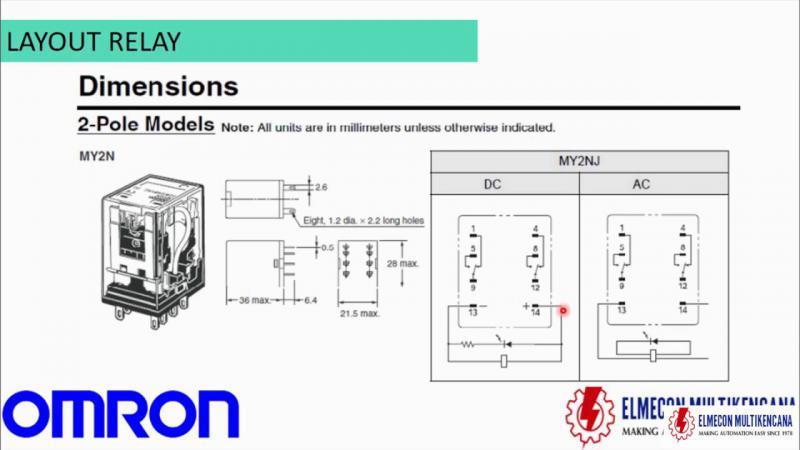 Omron Ly2 Relay Wiring Diagram Download Wiring Diagram Sample