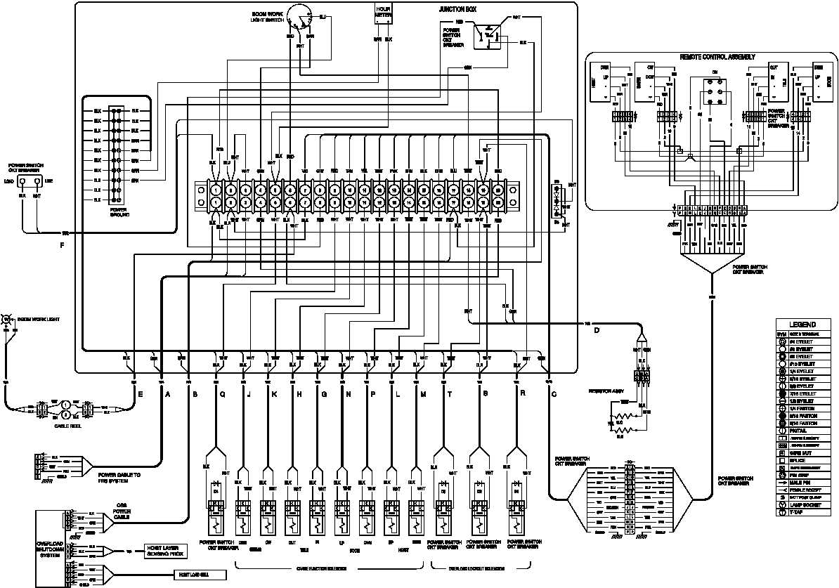 remote control electric hoist wiring diagram