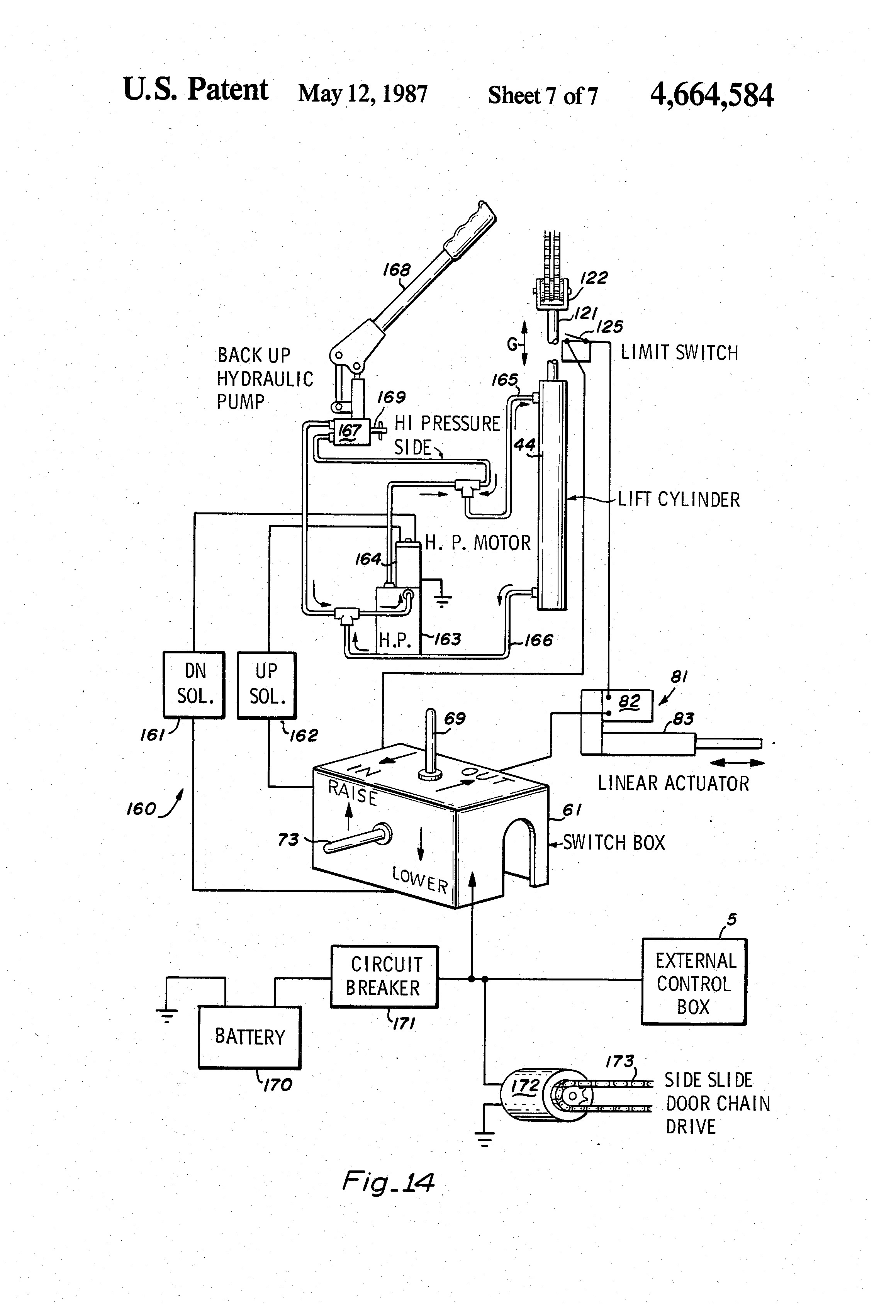 rotary lift switch wiring diagram