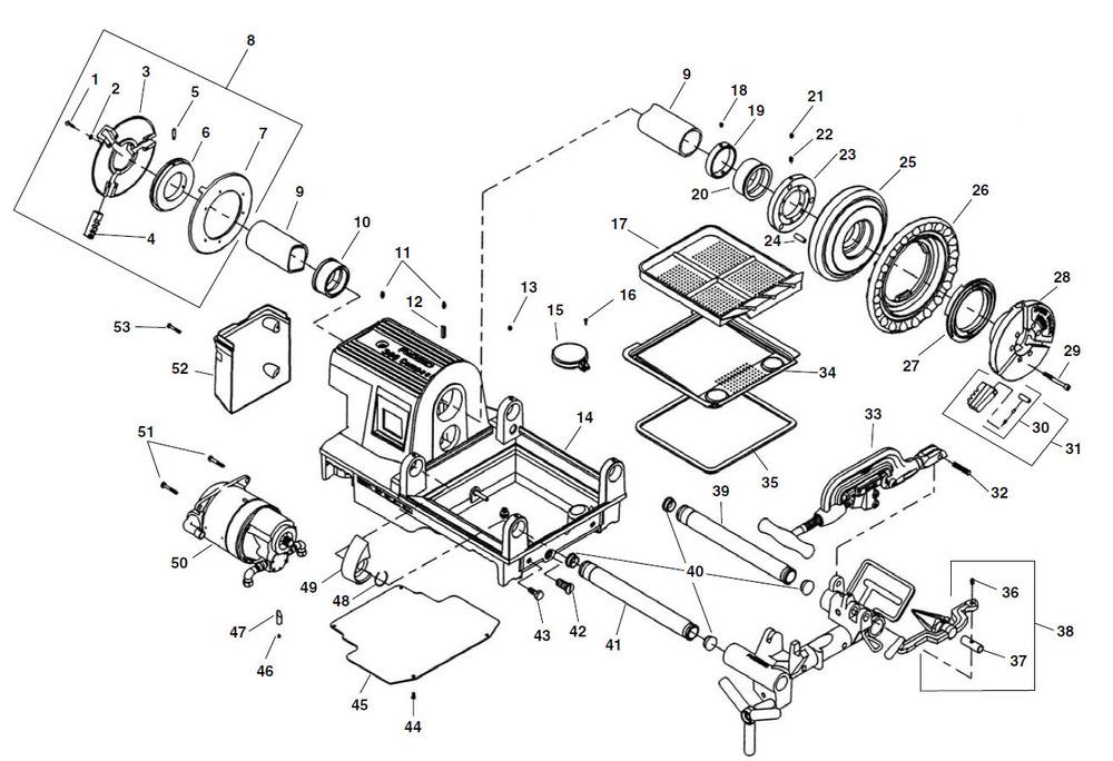 ridgid 535 pipe threader parts