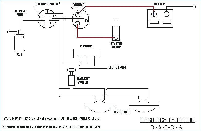 Old Lawn Tractor Wiring Diagrams Wiring Diagram