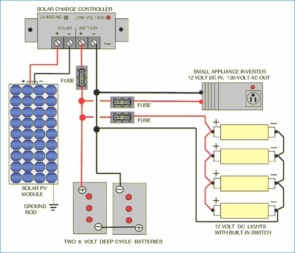 Rv solar Panel Installation Wiring Diagram Sample Wiring Diagram