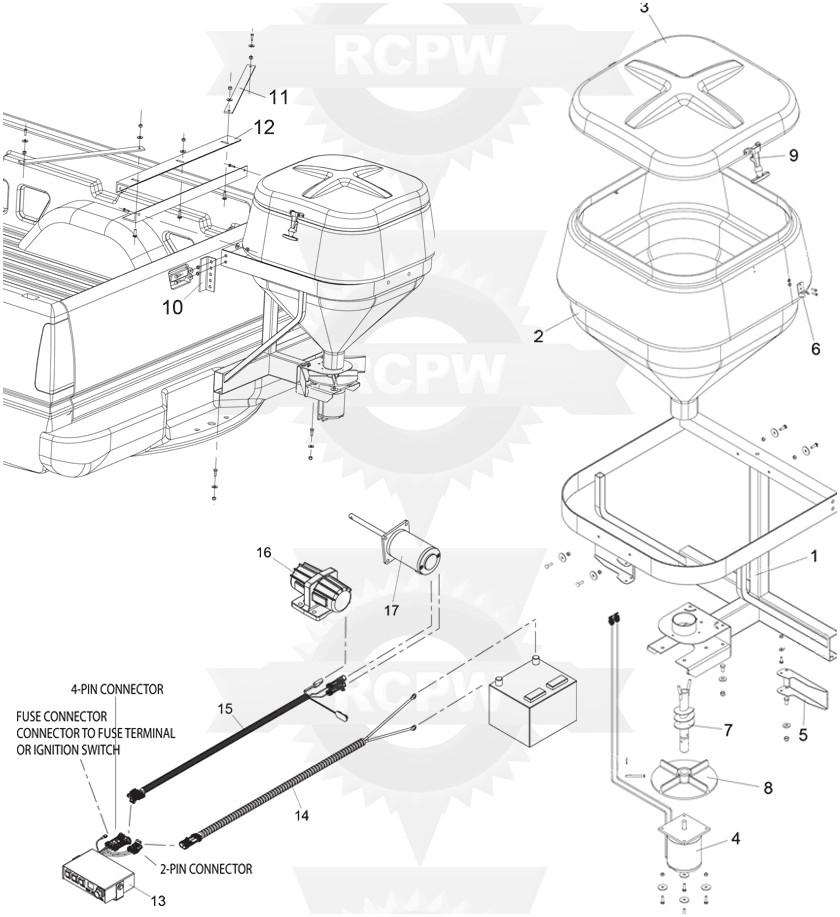 swenson salt spreader wiring diagram