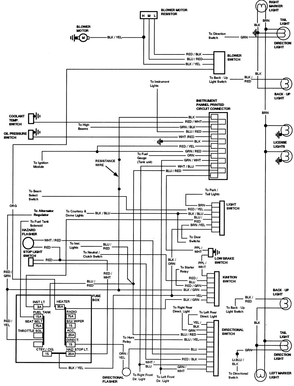 simplex wiring diagram