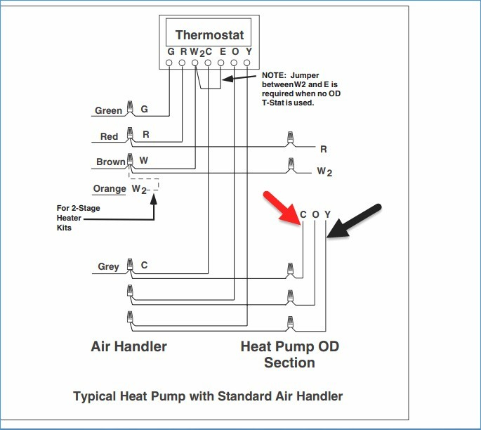 Single Stage thermostat Wiring Diagram Collection Wiring Diagram