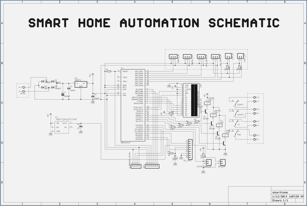 Smart Home Wiring Diagram Pdf Collection Wiring Diagram Sample