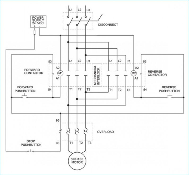 Motor Starter Wiring Diagram On Stop Start Motor Contactor Wiring