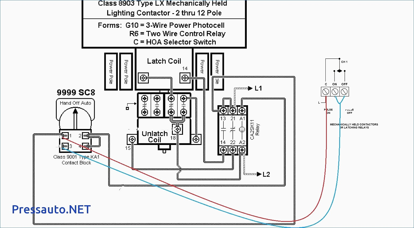 photocell wiring diagram with contactor